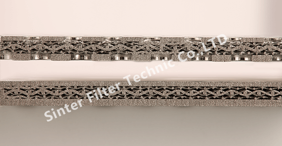 Type C Sintered Wire Mesh Cross Section Structure